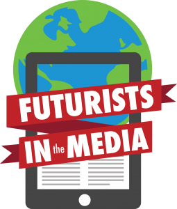 Futurist in the media logo